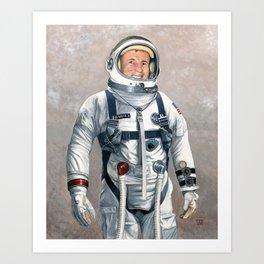 Ed White Art Print