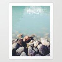 Milky Waters  Art Print