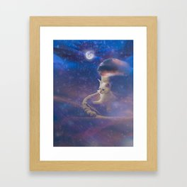 Off and Away Framed Art Print