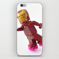 transistor iPhone & iPod Skins featuring Transistor powered roller wheels by Tom Milton