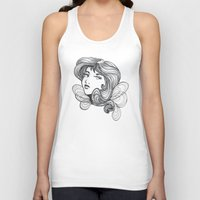 gray Tank Tops featuring Gray by SkinnyGinny