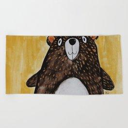 Mr. Bear Beach Towel