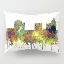 Greensboro NC Skyline SG - Safari Buff Pillow Sham