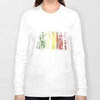 forrest Long Sleeve T-shirts featuring Solar forrest by Matthias Vervaet