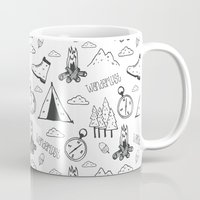 wanderlust Mugs featuring Wanderlust by Tracie Andrews