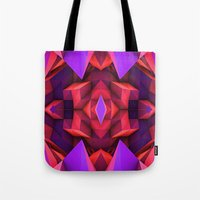 rave Tote Bags featuring Rave by Billy Harris
