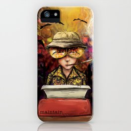 Maintain iPhone Case