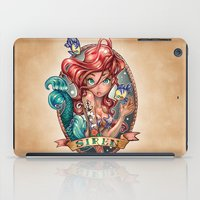 large iPad Cases featuring SIREN by Tim Shumate