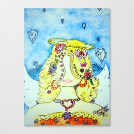My Girl Angie Canvas Print