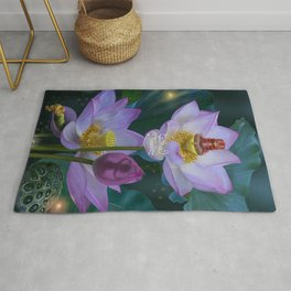 Lotus of India Rug