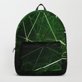lines strokes intersection tangled greena Backpack
