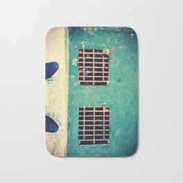 Blue Suede Morning Bath Mat