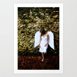 """""""Angel Among Us, image 2"""" Art Print"""