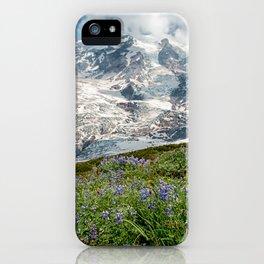 Scenic Landscape Art, Mt. Rainier, Mt. Rainier National Park, Paradise iPhone Case