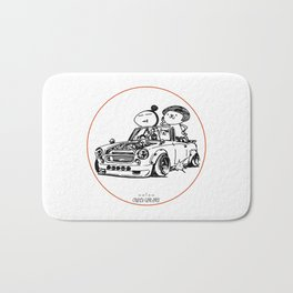 Crazy Car Art 0035 Bath Mat