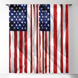The American Flag Blackout Curtain