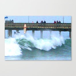 Wipeout! Canvas Print