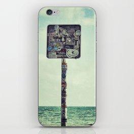 key west water's edge iPhone Skin