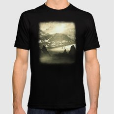 Winter. Melody. X-LARGE Mens Fitted Tee Black