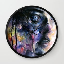 Frozen Wall Clock