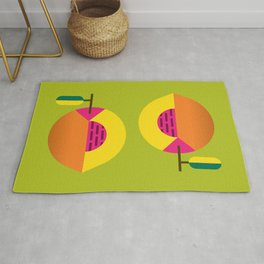 Fruit: Peach Rug