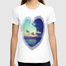 Orange Hawaiian Nights T-shirt