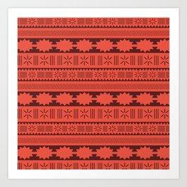 Moana Tribal Inspired Art Print