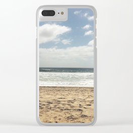 San Diego Surfers Clear iPhone Case