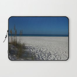 A Peaceful Day At A Marvelous Gulf Shore Beach Laptop Sleeve