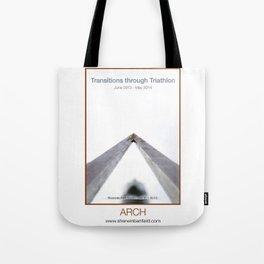 ARCH of Transitions through Triathlon Tote Bag
