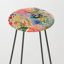 Flower Joy Counter Stool