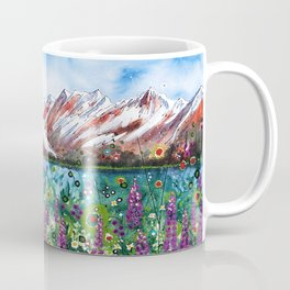 Carpathian in Lupine Coffee Mug