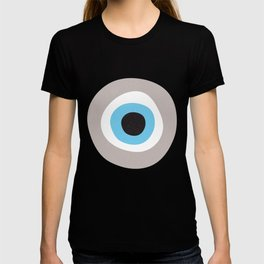 Warm Grey Evil Eye Symbol T-shirt