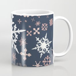 Beautiful Christmas pattern design with snowflakes Coffee Mug