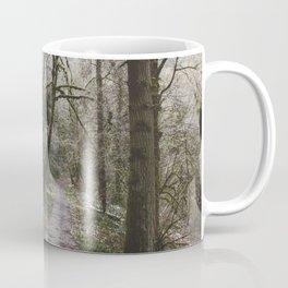 Frosty Forest Path Coffee Mug