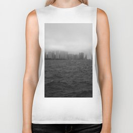 misty windy city Biker Tank