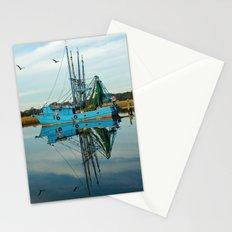 Boat Reflection Stationery Cards