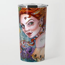A Pirate Queen's Memory Travel Mug