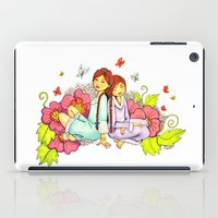 sisters iPad Cases featuring Sisters by Namia Design