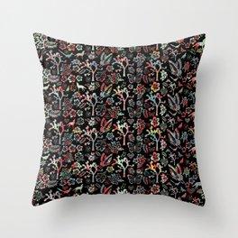 Joshua Tree Tropical by CREYES Throw Pillow