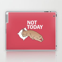 Lazy Frenchie Laptop & iPad Skin