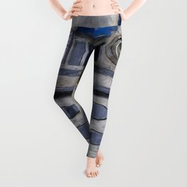 R2D2 Droid Robot StarWars Leggings
