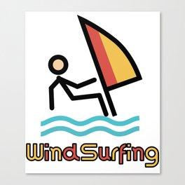 Windsurfing Gift Idea Canvas Print