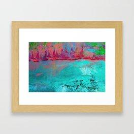 Turquoise Ocean Framed Art Print