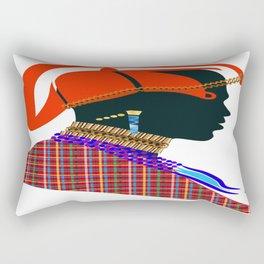 massai warrior digital design zolliophone shop Rectangular Pillow