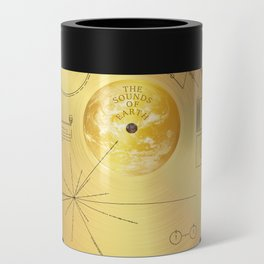 Voyager 1 Golden Record #1 Can Cooler