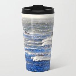 Wind Blown Breakers Travel Mug