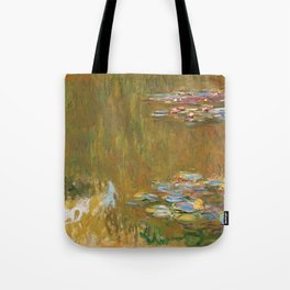 """Claude Monet """"The Water Lily Pond"""", c.1917-19 Tote Bag"""