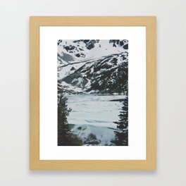 joffre lakes (13) Framed Art Print