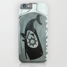 Whale in a Bottle | Ship's Wheel Slim Case iPhone 6s